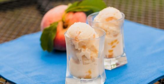 Сладолед вкус праскова